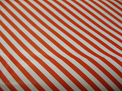 4 x 5 METRES CANDY RED STRIPE WRAPPING PAPER GIFT WRAP CHRISTMAS BIRTHDAY ROLLS