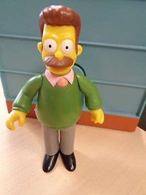 Playmates 2000 Collectable The Simpsons Interactive Ned Flanders Figure