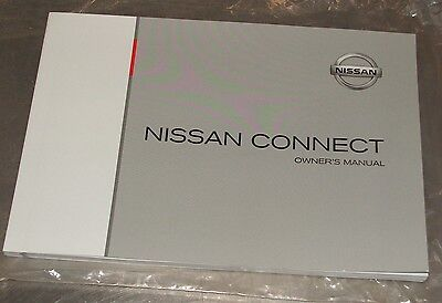 Nissan Connect Owners Manual Printed May 2012 Part Number 0M12E-LCNE0E Genuine