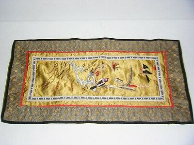Silk Japanese Embroidered Place Mat