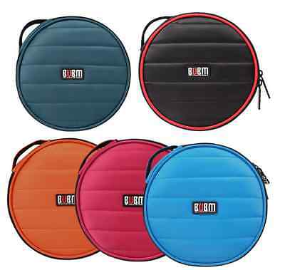 BUBM Professional 32 Capacity Portable CD DVD Wallet Case Holder DJ Storage Bag