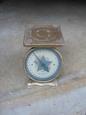 Vintage American Family Nursery Scale~Kitchen Scale