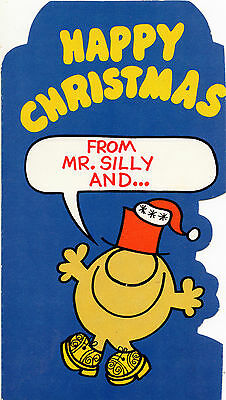 Genuine Vintage Happy Christmas Card From Mr.Silly