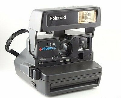 Brand New POLAROID 636 INSTANT FILM CAMERA