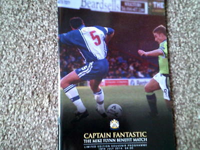 STOCKPORT COUNTY-Mike Flynn benefit,18.7.2014.Ltd Edition-Different covers