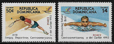 Dominican Rep #1140-1 Mint Never Hinged Set - Sports