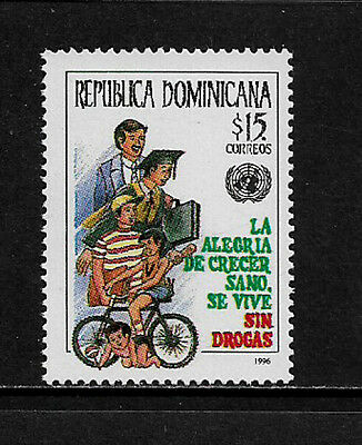 Dominican Rep #1229 Mint Never Hinged Stamp - Against Illegal Drugs