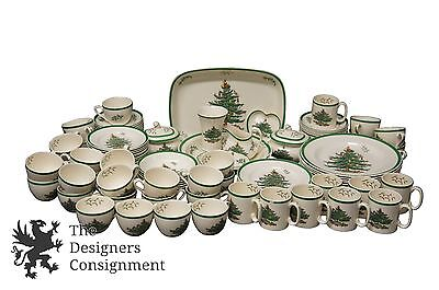 Imperial Cookware 113 Piece Spode Pattern S3324 Christmas Tree China England X