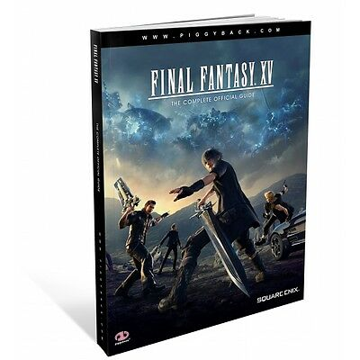 Final Fantasy XV The Complete Official Guide Brand New