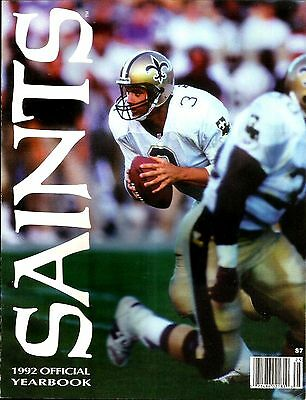 1992 New Orleans Saints Official Team Yearbook