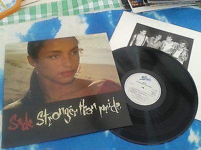 SADE ‎– Stronger Than Pride UK LP +INNER**L@@K MORE PICS** EXCELLENT CONDITION