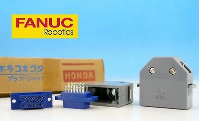 SET MR-20F + MR-20L 20 pin Female + Case Cover HONDA Japan CONNECTOR FANUC CNC