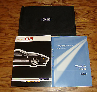 Original 2005 Ford GT Owners Operators Manual Kit w/Case 05