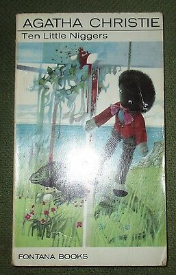 Ten Little Niggers by Agatha Christie (Paperback, Fontana 1973)