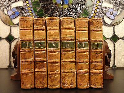 1754 Don Quixote Spanish Miguel Cervantes Chivalry 6v SET de Saint-Martin ART