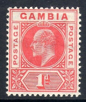Gambia: 1902 KEVII 1d SG 46 mint