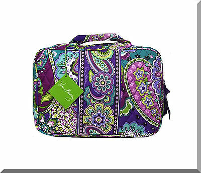 VERA BRADLEY Grand Cosmetic - Heather Pattern NWT