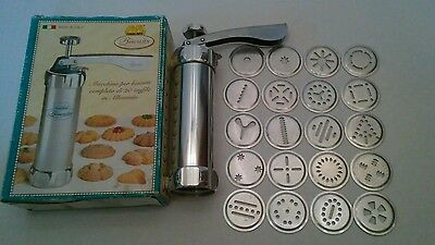 Marcato Cookie Press Spritz Cooky Complete with Box