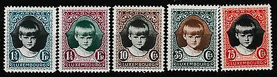 Luxembourg 1929 Child Welfare Set Mint