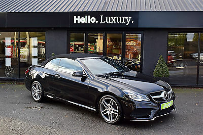 Mercedes-Benz E220 CDI AMG Sport Diesel Automatic Convertiable Black 2013