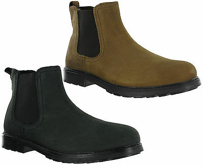 Red Tape Chelsea Dealer Twin Gusset Riding Leather Mens Padded Carey Boots