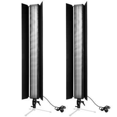 walimex Set of 2 Daylight Stripes 110W Barn Doors