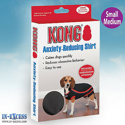 Genuine Kong Anxiety-Reducing Dog Shirt Size Small-Medium calming Vest Coat