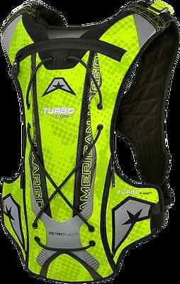 American Kargo Yellow Turbo 3 Liter Textile Motorcycle Offroad Hydration Bag