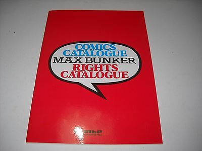 Catalogo Alan Ford Comics Catalogue Rights Diritti Max Bunker Magnus 1985!!!!