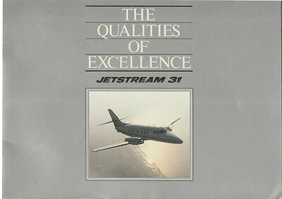 The Qualities Of Excellence Jetstream 31 Publication