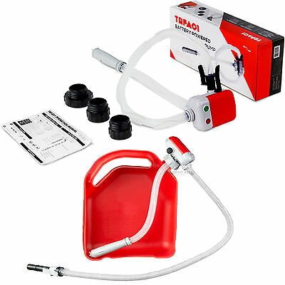 Terapump TRFA01 Fuel Transfer Pump Battery Operated Auto Stop & Leak Protection
