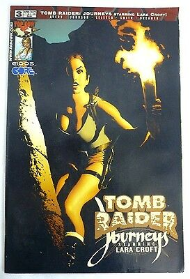Tomb Raider: Journeys Starring Lara Croft Vol. 1 #3 2002 First Print VF 8.5+