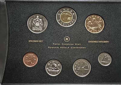 2008 Canada Specimen Set of Coins with Common Eider Dollar