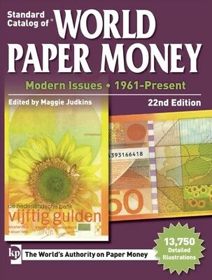Standard Catalog of World Paper Money, Modern Issues, 1961-Present, 22nd Editio.