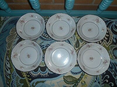 "6 Versailles by Mikasa 5 1/2 ""  BERRY FRUIT SAUCE  Bowls"