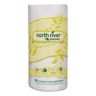 Csd 4078 North River PerForated Roll Towels, 2-Ply 11 x 8.81 in.