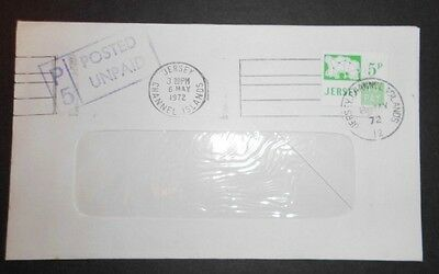 Jersey 1972 POSTED UNPAID. 5p.