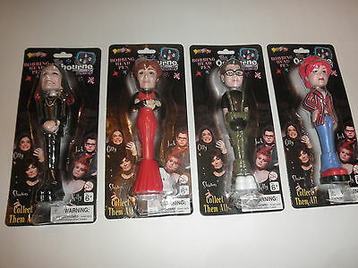 Osbourne Family  Bobble Head pen set of 4
