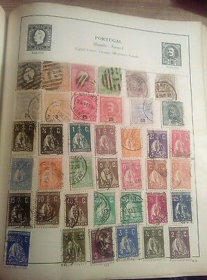 Stamps Used Mm Portugal