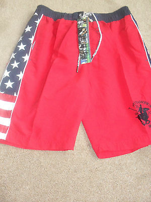 Mens Swim  Shorts Size S From Polo Club