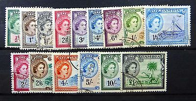 GAMBIA 1953 to £1 SG171/85 Fine/Used NEW LOWER PRICE FP8622
