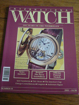 International Wrist Watch Magazine, Issue 65
