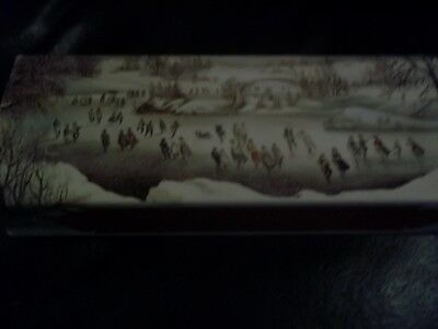 NOS NEW IN BOX Vintage NEW AVON 1876 VINTAGE WINTERSCAPES 2 BARS OF SOAP 3 OZ