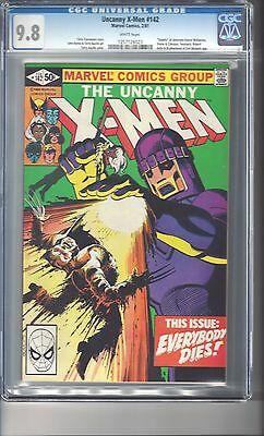 X-Men #142 CGC 9.8 White Pages