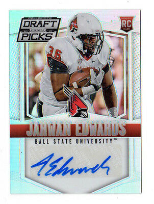 Jahwan Edwards Nfl 2015 Panini Prizm Draft Picks Autographs Prizms (Dolphins