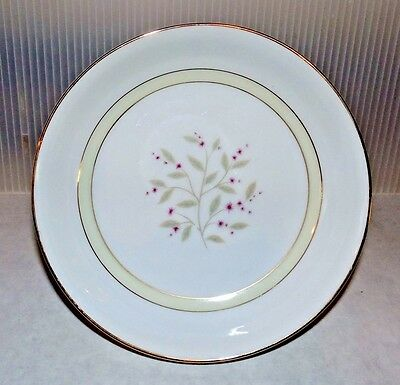 Mikado China Occupied Japan Debutante Coupe Soup Bowl Set of 4 Pink Flowers