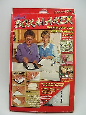 Aleenes Box Maker set Base with Scoring Tool and Directions