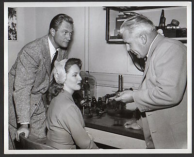 Mr & Mrs North TV detectives RICHARD DENNING Barbara Britton VINTAGE ORIG PHOTO