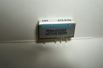 2 Motorola Nln7834A Minitor Ii Permacode Active Tone Filter Reed