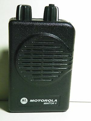 MOTOROLA SV 2 CH MINITOR V VHF FIRE PAGER 143-150.9975 MHz